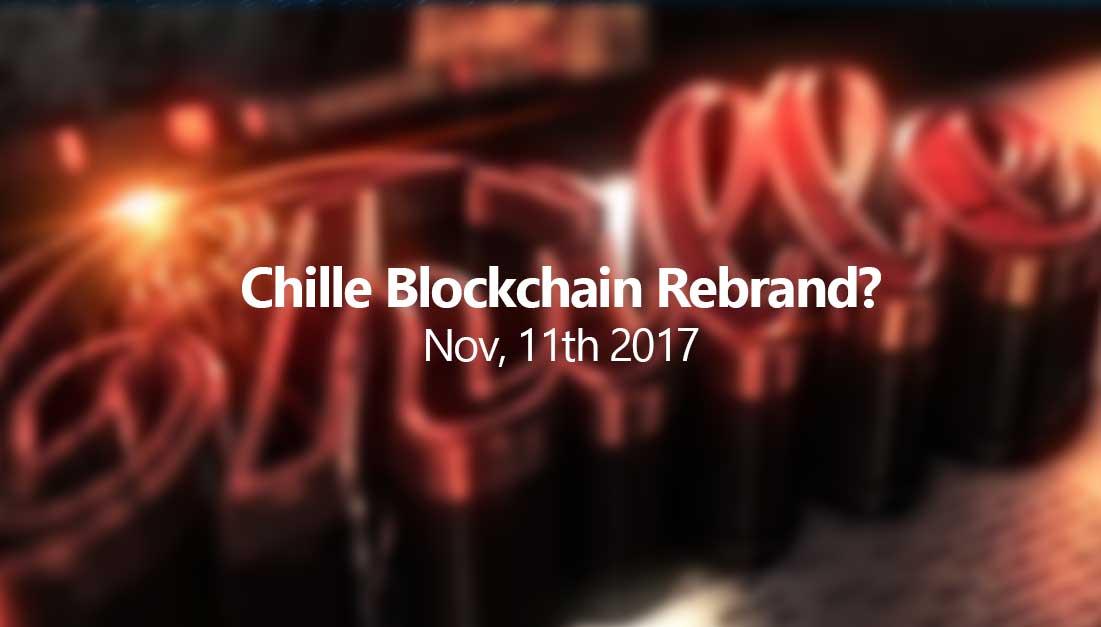 Possible Chille Blockchain rebrand?