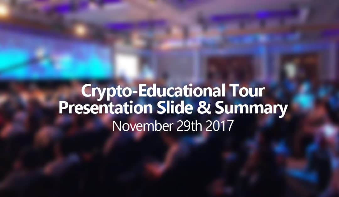 Safex Presentation Slides – Crypto-Educational Tour 2017
