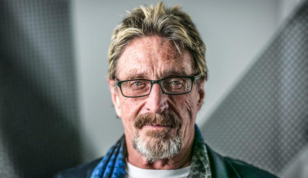 John McAfee confirms he is a Safex investor