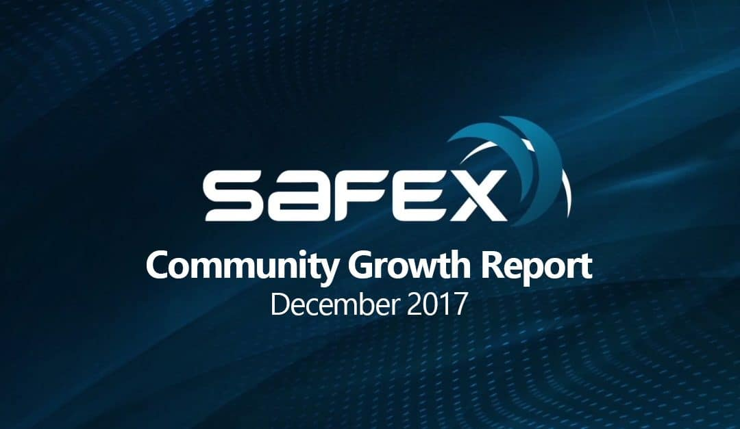 Safex Community Growth Report – December 2017