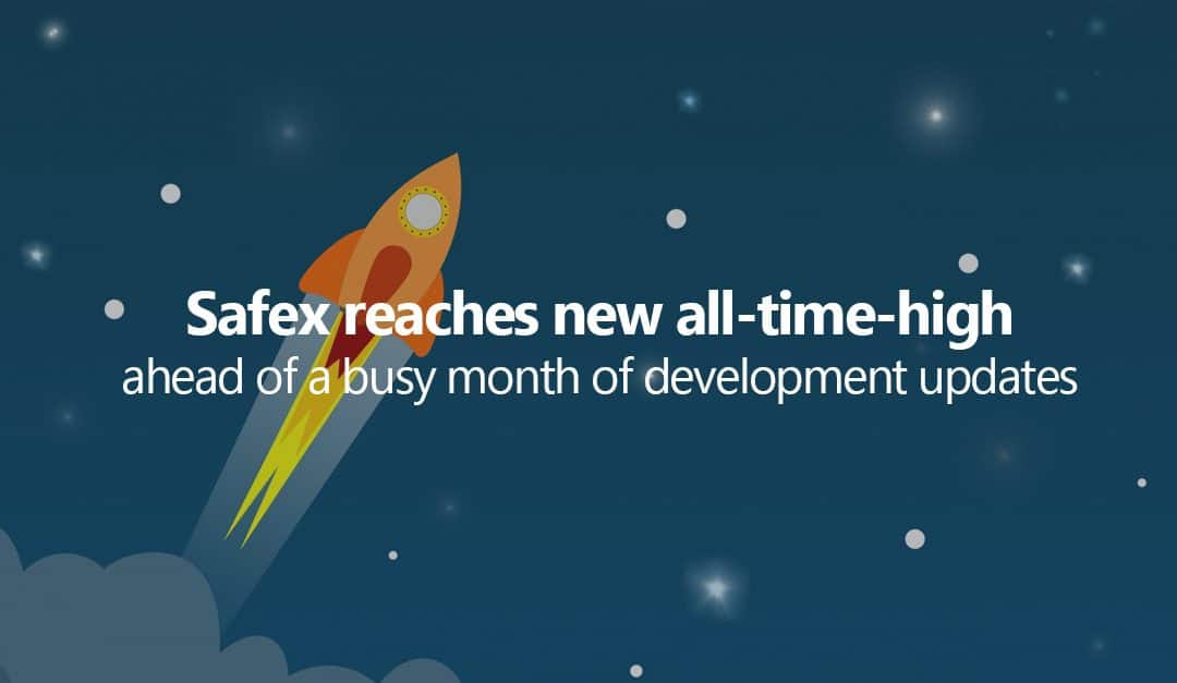 Safex reaches all-time-high ahead of a busy month of development updates