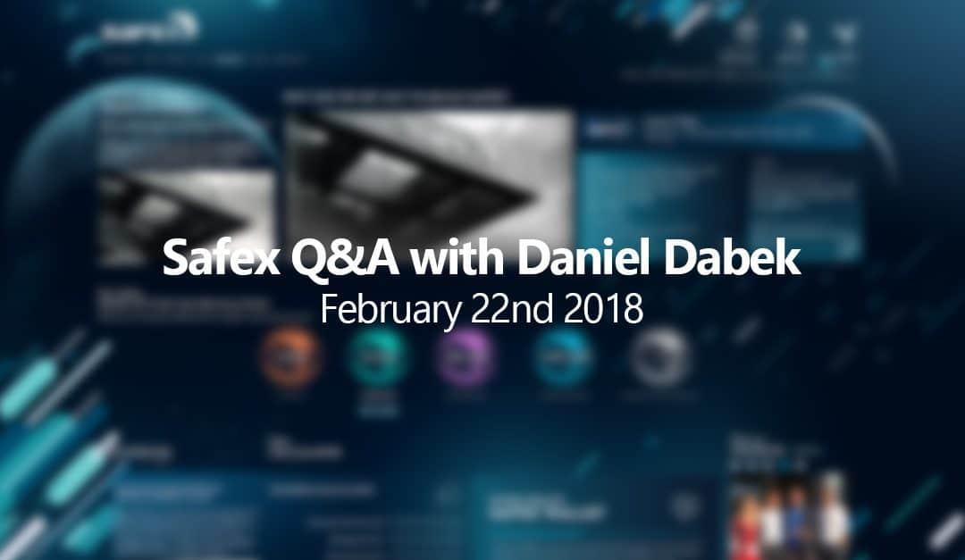 Safex Q&A with Daniel Dabek