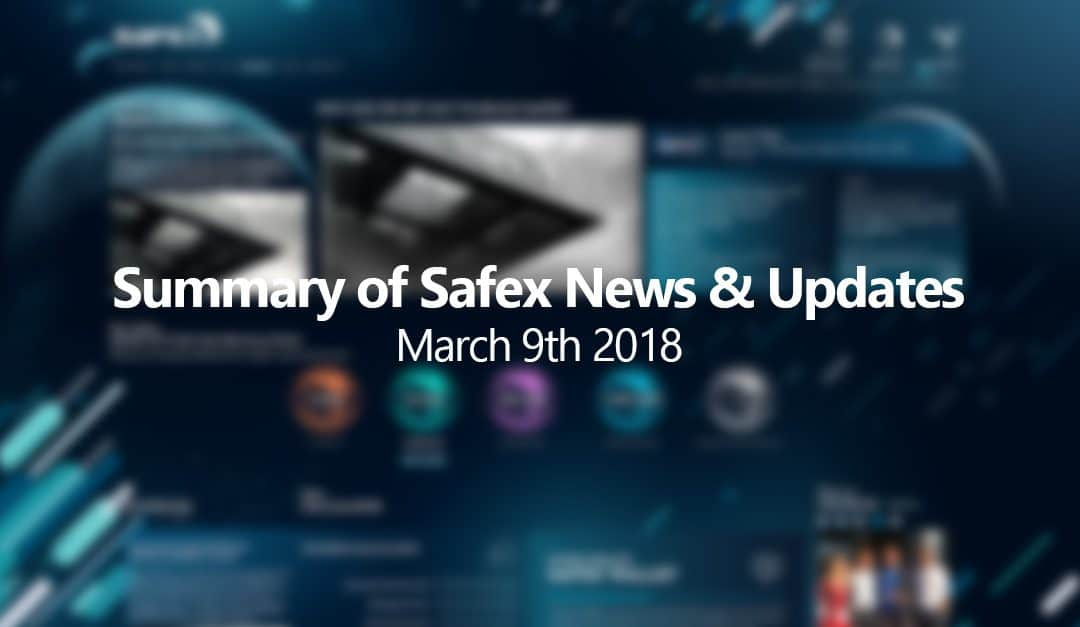 Latest Summary of Safex News and Updates