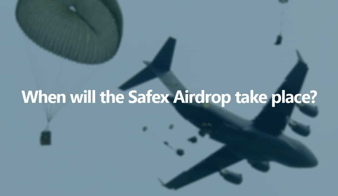 When is the Safex Airdrop?