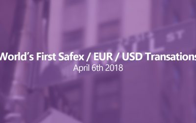 World's First EUR/USD to Safex Transactions Performed