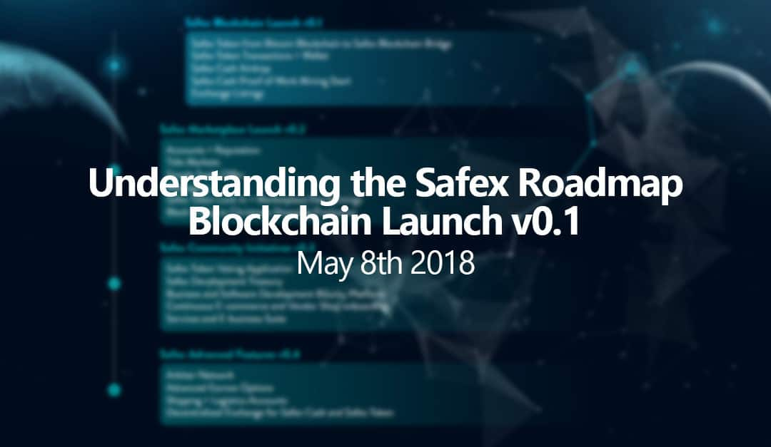 Understanding the Safex Roadmap – Blockchain Launch v0.1