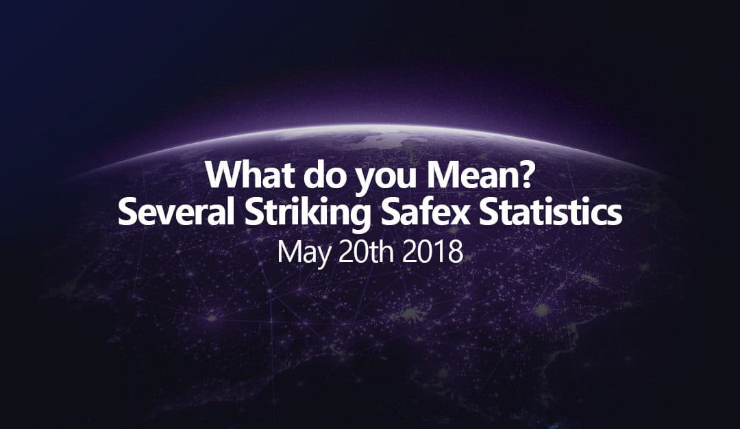 What do you Mean? Several Striking Safex Statistics