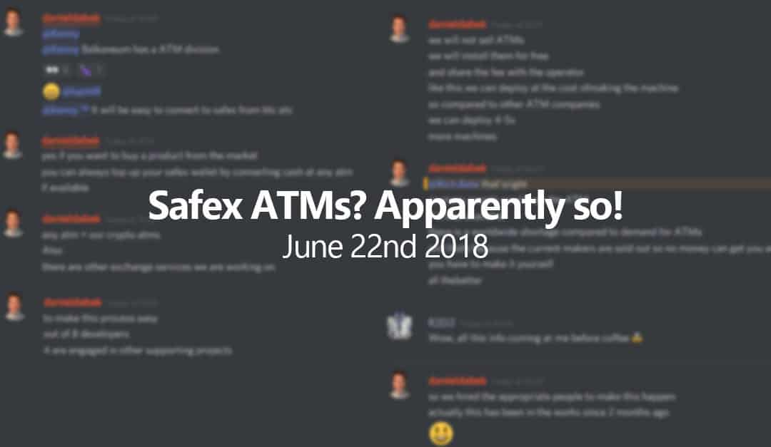 Daniel Dabek reveals plans for Safex ATMs