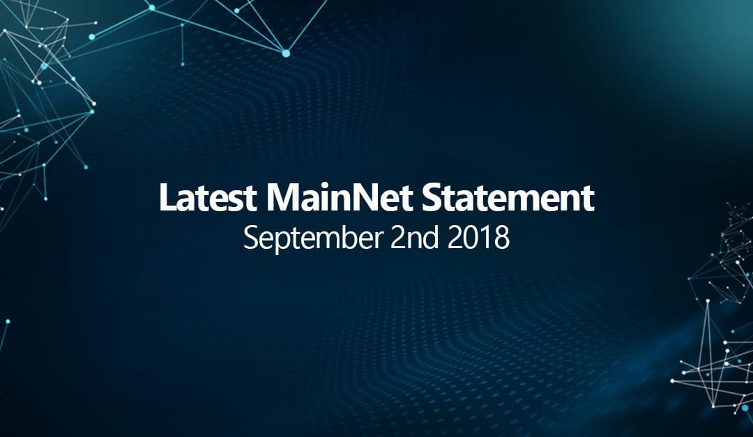 Statement regarding the latest status of Safex MainNet